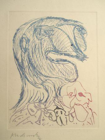 Stich Alechinsky - Quelques vieilles lignes X