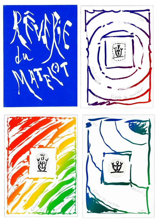 Stich Alechinsky - Rêverie du Matelot