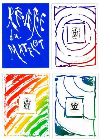 Lithographie Alechinsky - Rêverie du Matelot