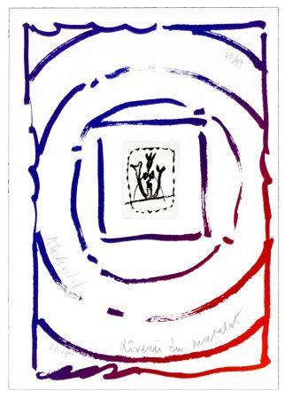Lithographie Alechinsky - Rêverie du matelot I
