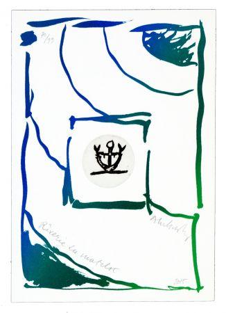 Stich Alechinsky - Rêverie du matelot III