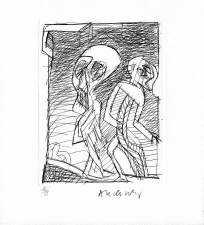 Stich Alechinsky - RAINE (Jean). Poèmes à peine poèmes.