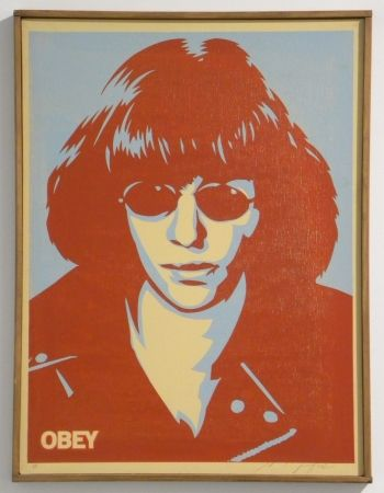 Siebdruck Fairey - Ramone Canvas