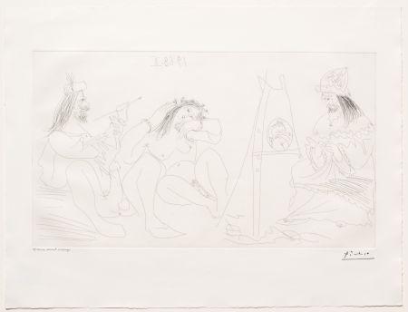 Stich Picasso - Raphael et la Fornarina VII