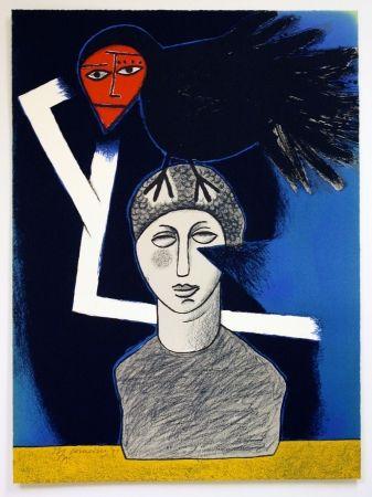 Lithographie Corneille - Raven No. 1