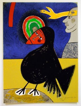 Lithographie Corneille - Raven No. 3