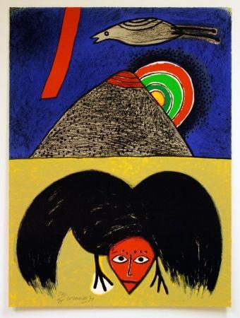 Lithographie Corneille - Raven No. 4