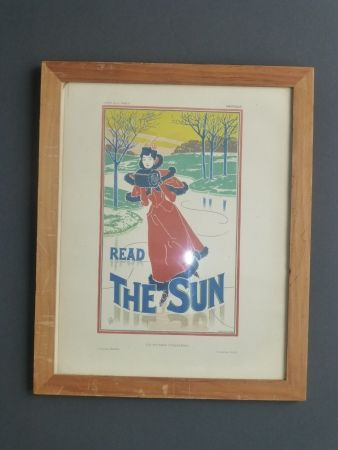 Lithographie Read - Read the sun