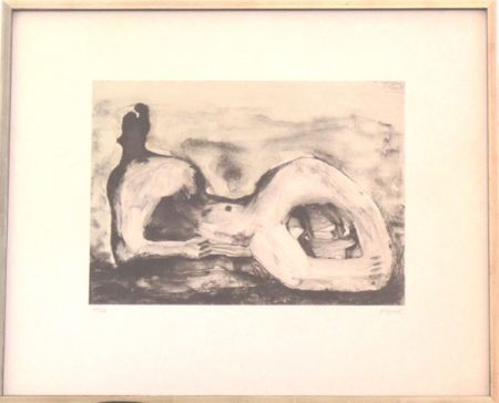 Lithographie Moore - Reclining Figure