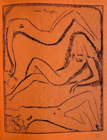 Stich Van Dongen - Reclining Nudes
