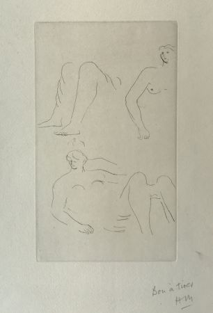 Stich Moore - Reclining Nudes