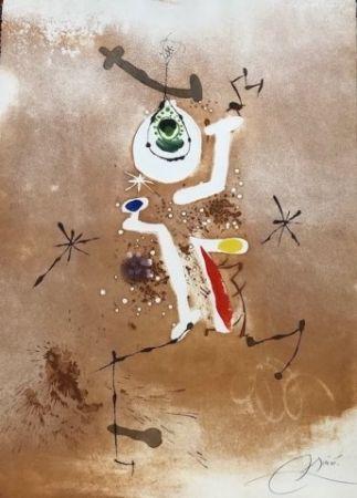 Radierung Und Aquatinta Miró - Record d' una fuga de Bach