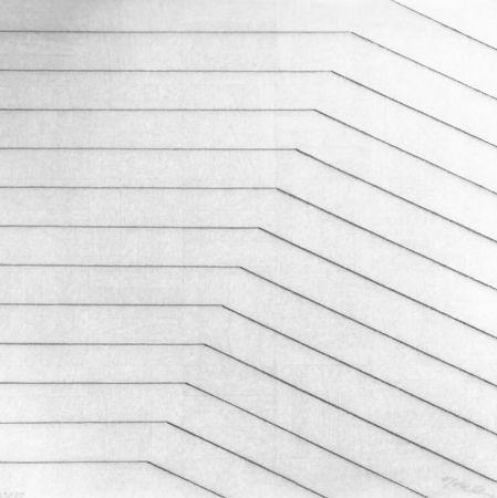 Siebdruck Morellet - Recto-verso 25°, 2011