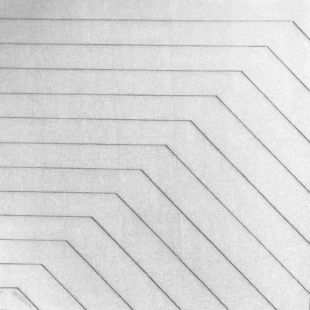 Siebdruck Morellet - Recto-verso 45°, 2011