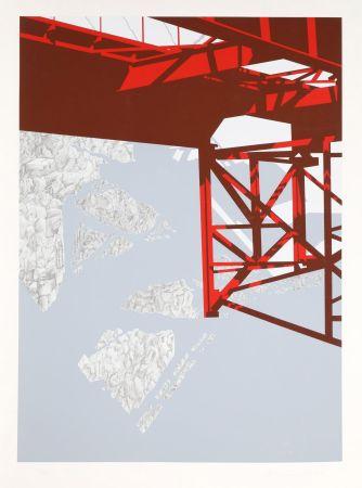 Siebdruck D'arcangelo - Red Bridge