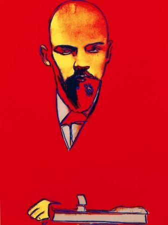 Siebdruck Warhol - Red Lenin FS II.403