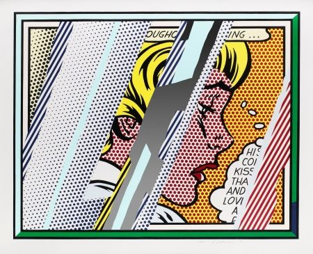 Multiple Lichtenstein - Reflections on Girl,  from Reflections Series (C. 245)
