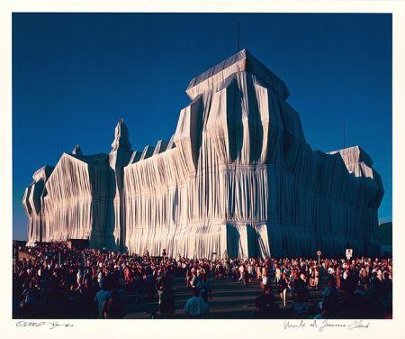 Fotografie Christo - Reichstag Mappe I, 18 Uhr