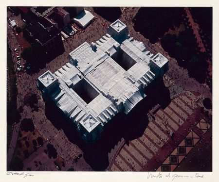 Fotografie Christo - Reichstag Mappe II, Dach