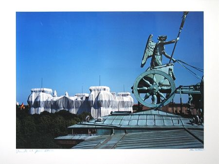 Fotografie Christo - Reichstag/Berlin I Wrapped