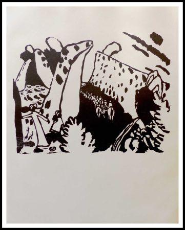 Holzschnitt Kandinsky - REITERWEG