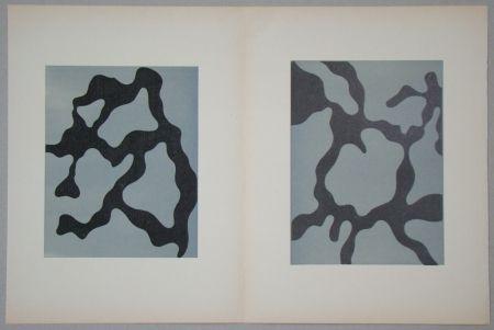 Holzschnitt Arp - Relief I. + II.