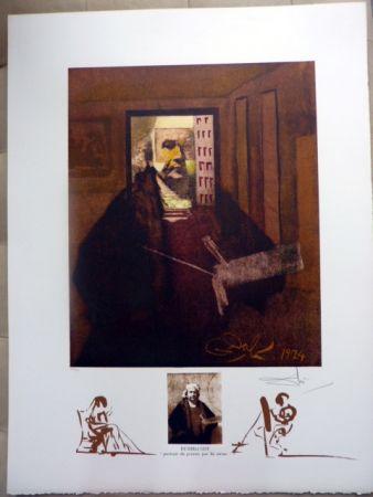 Lithographie Dali - Rembrandt