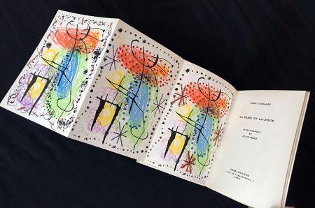Illustriertes Buch Miró - René Cazelles. LA RAME ET LA ROUE. Lithographie de Joan Miro. Paris, 1960
