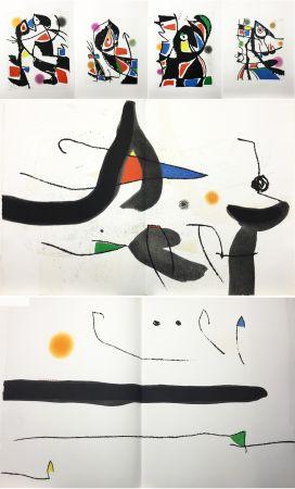 Illustriertes Buch Miró - René Char : LE MARTEAU SANS MAÎTRE. 23 gravures en couleurs (1976)
