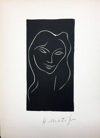 Illustriertes Buch Matisse - René Char : LE POÈME PULVÉRISÉ. Linogravure originale signée (1947).