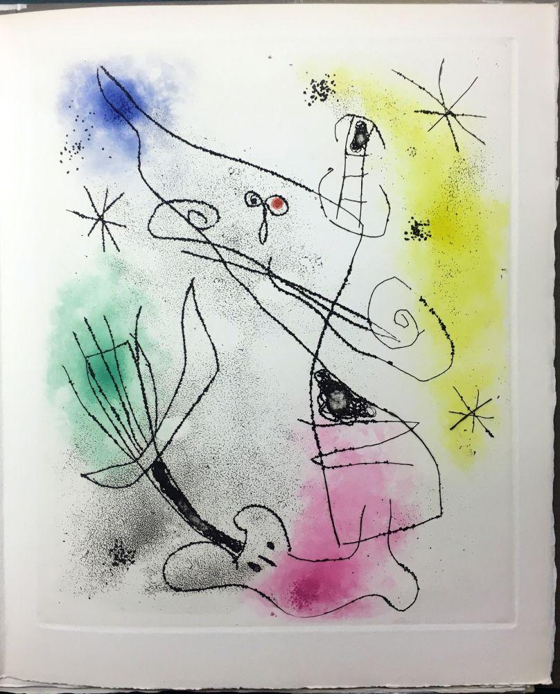Illustriertes Buch Miró - René Crevel : FEUILLES ÉPARSES (Avec 14 gravures de Arp, Giacometti, Ernst, Man Ray, Masson, etc.). 1965.