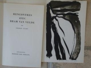 Illustriertes Buch Van Velde - Rencontres avec Bram Van Velde