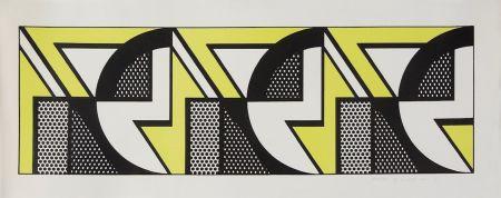 Lithographie Lichtenstein - Repeated Design