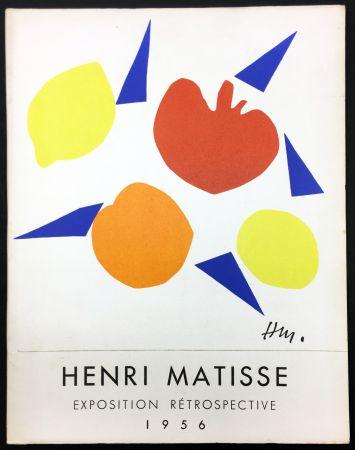 Illustriertes Buch Matisse - RETROSPECTIVE MATISSE 28 Juillet - 18 Novembre 1956 (Catalogue).