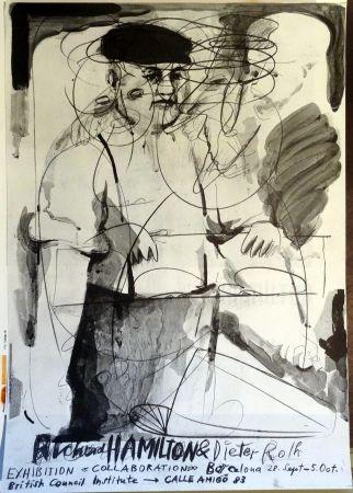 Plakat Hamilton - Richard Hamilton and Dieter Roth 'Collaborations'