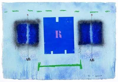 Carborundum Coignard - Rigueur bleue