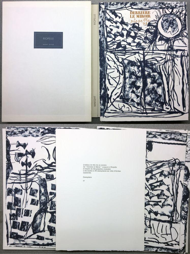 Illustriertes Buch Riopelle - RIOPELLE. DERRIÈRE LE MIROIR N° 232. Janvier 1979. TIRAGE DE LUXE SUR ARCHES.