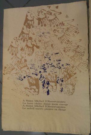 Lithographie Arman - RITOURNELLE