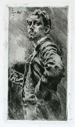 Stich Conconi - RITRATTO DI LUIGI ARRIGONI (Portrait of Luigi Arrigoni)
