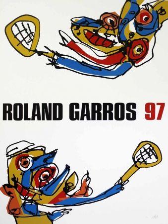 Siebdruck Saura - Roland Garros 97