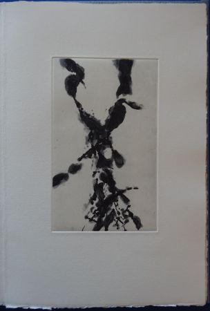 Radierung Zao - Rompre le cri (2 etchings)
