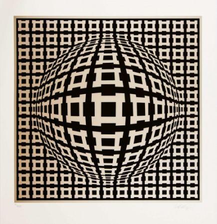 Multiple Vasarely - Rosenthal-1 (Nobel-1 Or)