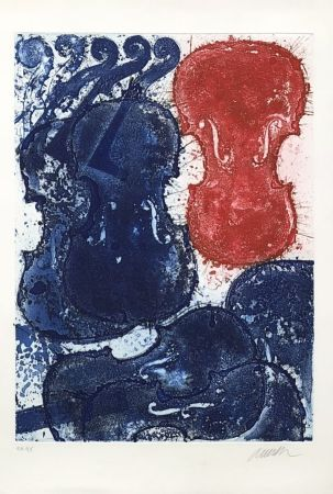 Stich Arman - Rouge et bleu