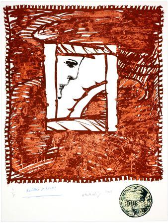 Lithographie Alechinsky - Rouilles et Ronces