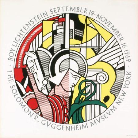 Siebdruck Lichtenstein - Roy Lichtenstein 'Solomon R. Guggenheim Museum' 1969 Original Poster
