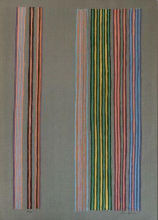Siebdruck Davis - Royal Curtain