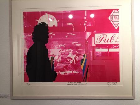 Siebdruck Fromanger - Série: Le peintre et le modèle