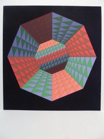 Siebdruck Vasarely - Sérigraphie
