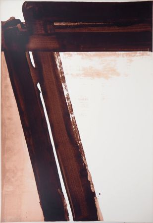 Siebdruck Soulages - Sérigraphie n°15