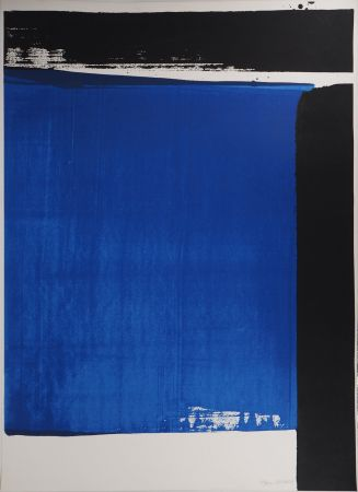 Siebdruck Soulages - Sérigraphie n°16
